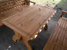 Стол деревянный А-3, 80х150см. Челябинск