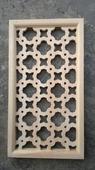 Решетка деревянная декоративная. Челябинск