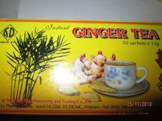 Китайский имбирный чай (Drink of original ginger tea)  10 пакетов по 15 гр. Челябинск