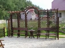 Шпалеры для винограда. Челябинск