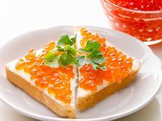 Бутерброд с икрой. Челябинск