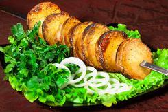 Картошка на мангале. Челябинск
