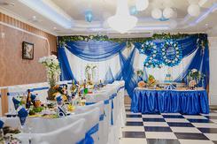 Украшение зала на свадьбу. Челябинск