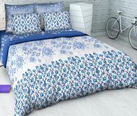 Комплект постельного белья Евро-стандарт Лазурит от ТМ. Челябинск
