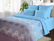 Комплект постельного белья Евро-стандарт Поплин рис.№140 от ТМ. Челябинск
