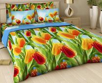 Комплект постельного белья Евро-стандарт Поплин рис.№315 от ТМ. Челябинск