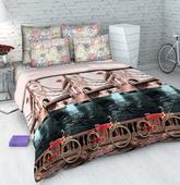 Комплект постельного белья Евро-стандарт Тауэрский мост от ТМ. Челябинск
