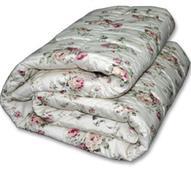 Одеяло 1,5 сп зимнее Овечья шерсть  от ТМ. Челябинск