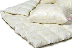 Одеяло 1,5-сп всесезонное Пухо-перовое от ТМ. Челябинск