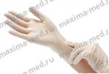 Перчатки смотровые латексные неопудренные нестерильные Dermagrip Extra. Челябинск