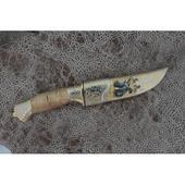 Нож подарочный Н8 ЦМ «Орел с клипсой» 3. Челябинск