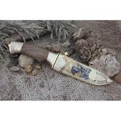 Нож подарочный НР3 ЦМ «Хозяин гор» у10а7хнм НЗЧ. Челябинск