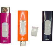 Зажигалка USB Rock цветная. Челябинск