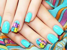 Дизайн ногтей гель-лаком. Челябинск
