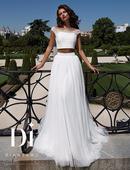 Свадебное платье комбинированное (юбка). Челябинск