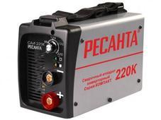 Сварочный инвертор Ресанта САИ-220К. Челябинск