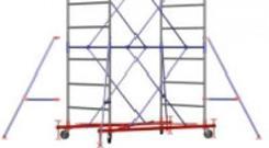 Вышки-туры стальные Zitrek МЕГА 1 - 3,8м (2 секции). Челябинск