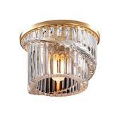 Встраиваемый светильник IP20 G9 40W 220V DEW 369901 NT14 194 золото. Челябинск