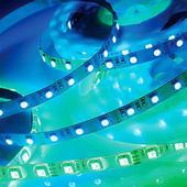 Лента светодиодная, 5м IP65 14,4W/м 220V LED-STRIP 357111 NT12 353 RGB. Челябинск