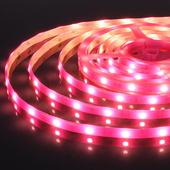 Светодиодная лента5050/30 LED 7,2 W IP65 розовый свет. Челябинск