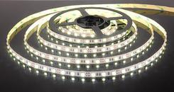Светодиодная лента5050/60 LED 14.4W IP20 [белая подложка] белый свет. Челябинск