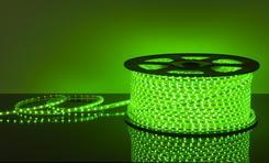 Светодиодная лентаLSTR001 220V 4,4W IP65 зеленый. Челябинск