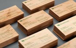 Изготовление деревянных визиток. Челябинск