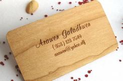 фотография Изготовление деревянных визиток Челябинск