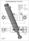 Гидроцилиндр ЦГ-70.35х320.22. Челябинск
