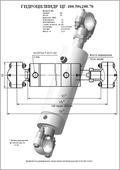 Гидроцилиндр ЦГ-100.50х200.70. Челябинск