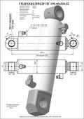 Гидроцилиндр ЦГ-100.60х320.22. Челябинск