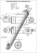 Гидроцилиндр ЦГ-140.80х800.18-01. Челябинск