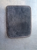 Автоковрик в багажник седан 6 мм серый