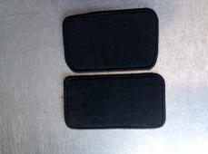 Автоковрик в багажник седан 6 мм черный
