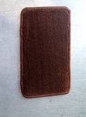 Автоковрик в багажник хетчбэк 8,5 мм коричневый