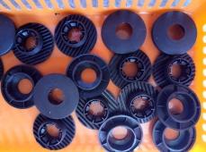 Люверсы пластиковые на коврики для Вольво