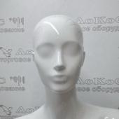 Манекен женский 180см, 83-63-86см, белый глянец, 4A-64(БЕЛ)
