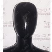 Манекен женский 175см, 86-65-86см, черный глянец, J01/BLACK