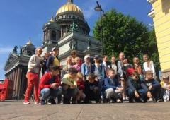 Белые ночи в Санкт-Петербурге  для школьников по схеме 6 +1